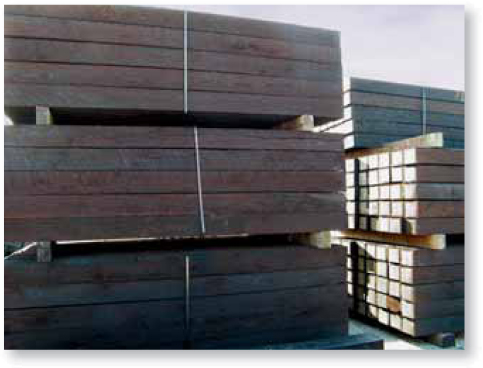 Wood and Steel Ties | A&K Railroad Materials, Inc